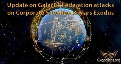 Mise à jour sur les attaques de la Fédération Galactique sur les satellites d'entreprise et l'exode vers Mars