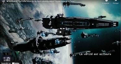 Révélation : La Flotte Noire du 4e Reich abandonnerait l'Antarctique et la Terre !