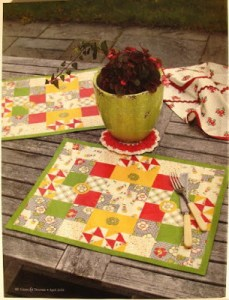 Mod Podge--Learn about using it with fabric to create placemats