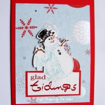Glad Tiding Snowman -- FREE Card Making Tutorial