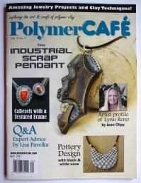 Mica Shift--necklace found in the April 2011 issue of Polymer CAFE