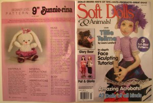 Crochet Amigurumi Ballerina Bunny -- July 2011 issue of Soft Dolls & Animals