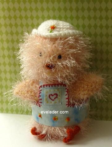 Crochet Amigurumi Country Chick