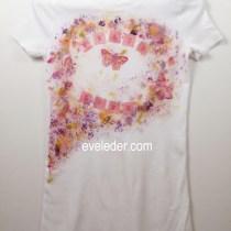 DIY Butterfly T-Shirt
