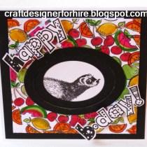 Free Ferret Birthday Card