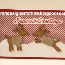 Season's Greetings Reindeer