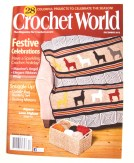 Crochet Penguin Toy--cover of December 2012 Crochet World