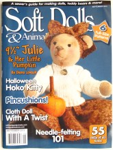 Queen Elizabeth --Soft Dolls & Animals, September 2013
