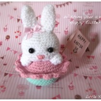 Amigurmi Bunny Rabbit--free crochet pattern