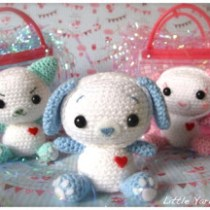 Cat, dog, bunny amigurumi--free crochet pattern