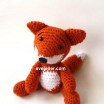 Red Fox-Crochet Amigurumi Pattern--Free Tutorial