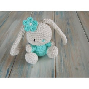 Crochet rabbit pattern plus video--FREE