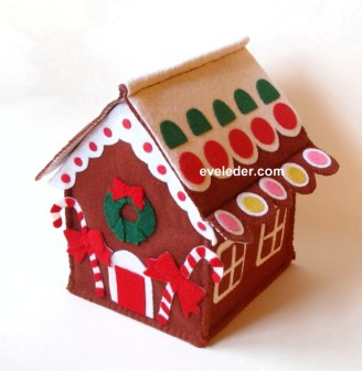 felt-gingerbread-house-in-brown-red-green-yellow-white-and-pink_1_1