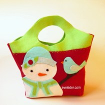 Snowman & Little Bird Gift Bag