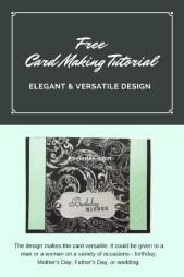 elegant versatile card