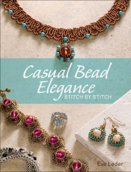 Learn bead stitching while making jewelry you'll want to wear. Please visit blog for book reviews.