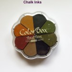 Comparison Inks Cardmakers--chalk inks