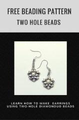Two Hole Beads Pattern