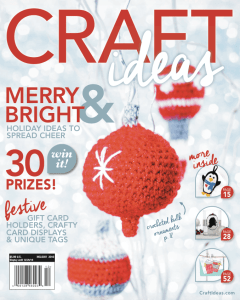 10 Reason to Crochet Christmas Ornaments--Craft Ideas Holiday 2016