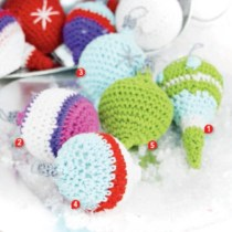 Crochet Christmas Ornaments --10 reasons to do so. Plus information regarding crochet ornament patterns and materials used to create them.
