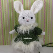 Amigurumi Rabbit Rockette inspired costume--Learn how you can contribute to the design.