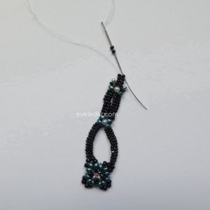 Two-Hole Bead Romance Bracelet--Fig. 16