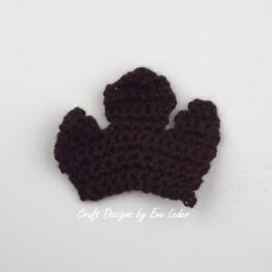 Crochet Leaf Bowl--FREE Fall DIY Decor project-