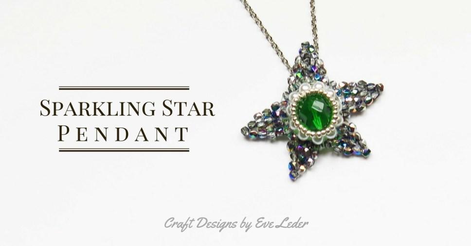 eaded Star Pendant or Ornament--FREE Beading Pattern