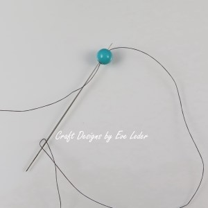 Peyote Stitch Toggle Bar --Free Beading tutorial--Fig. 1