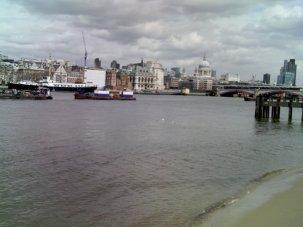 A miniature London beach
