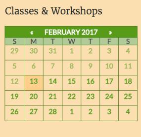 Example: Events Calendar
