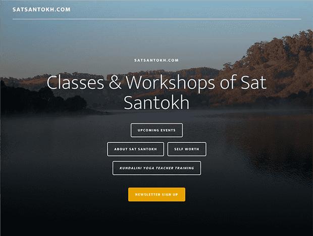 Sat Santokh website image