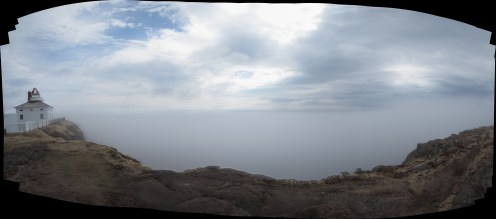 Cape Spear in the Fog