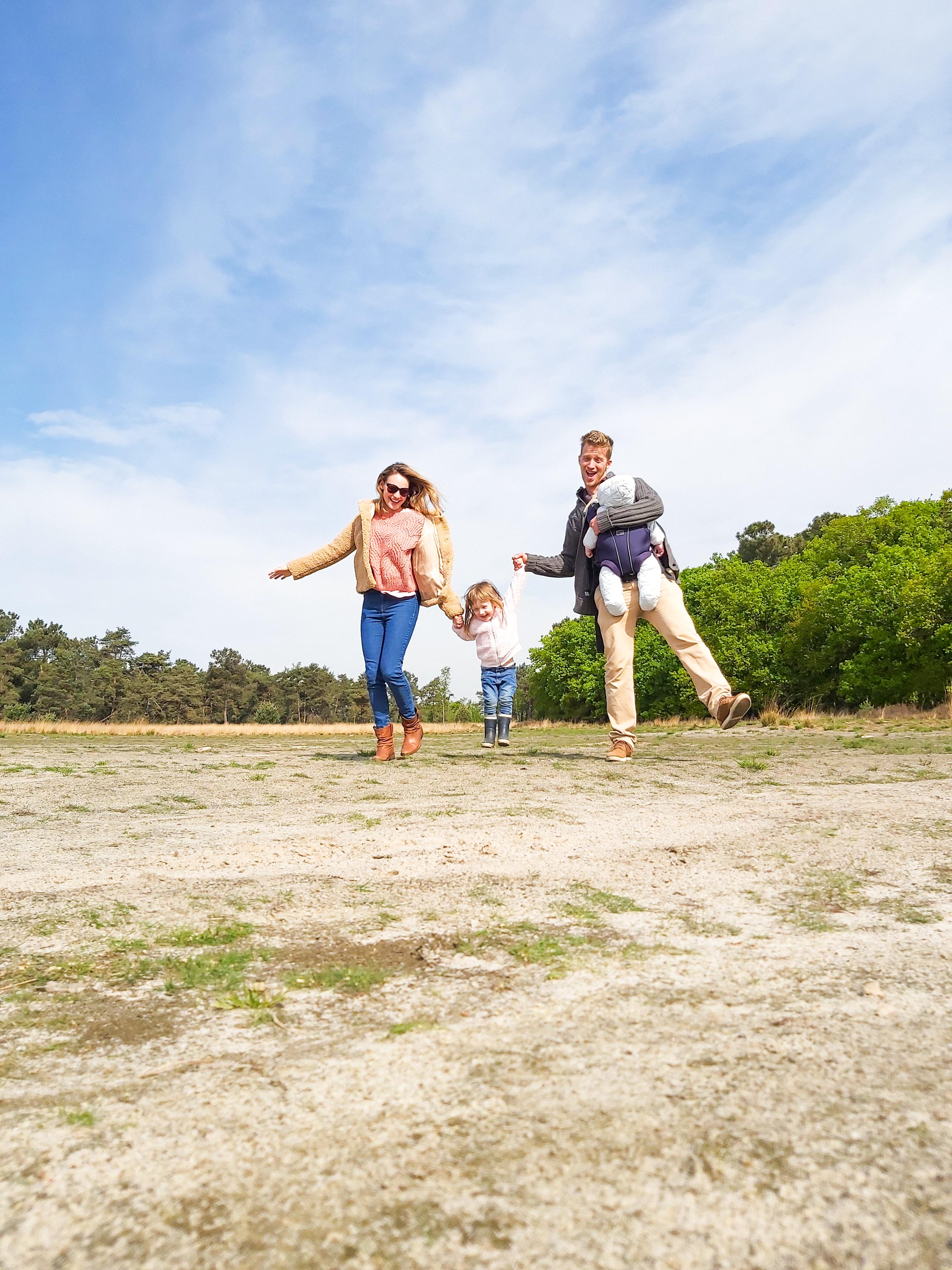 Kalmthoutse Heide met het gezin
