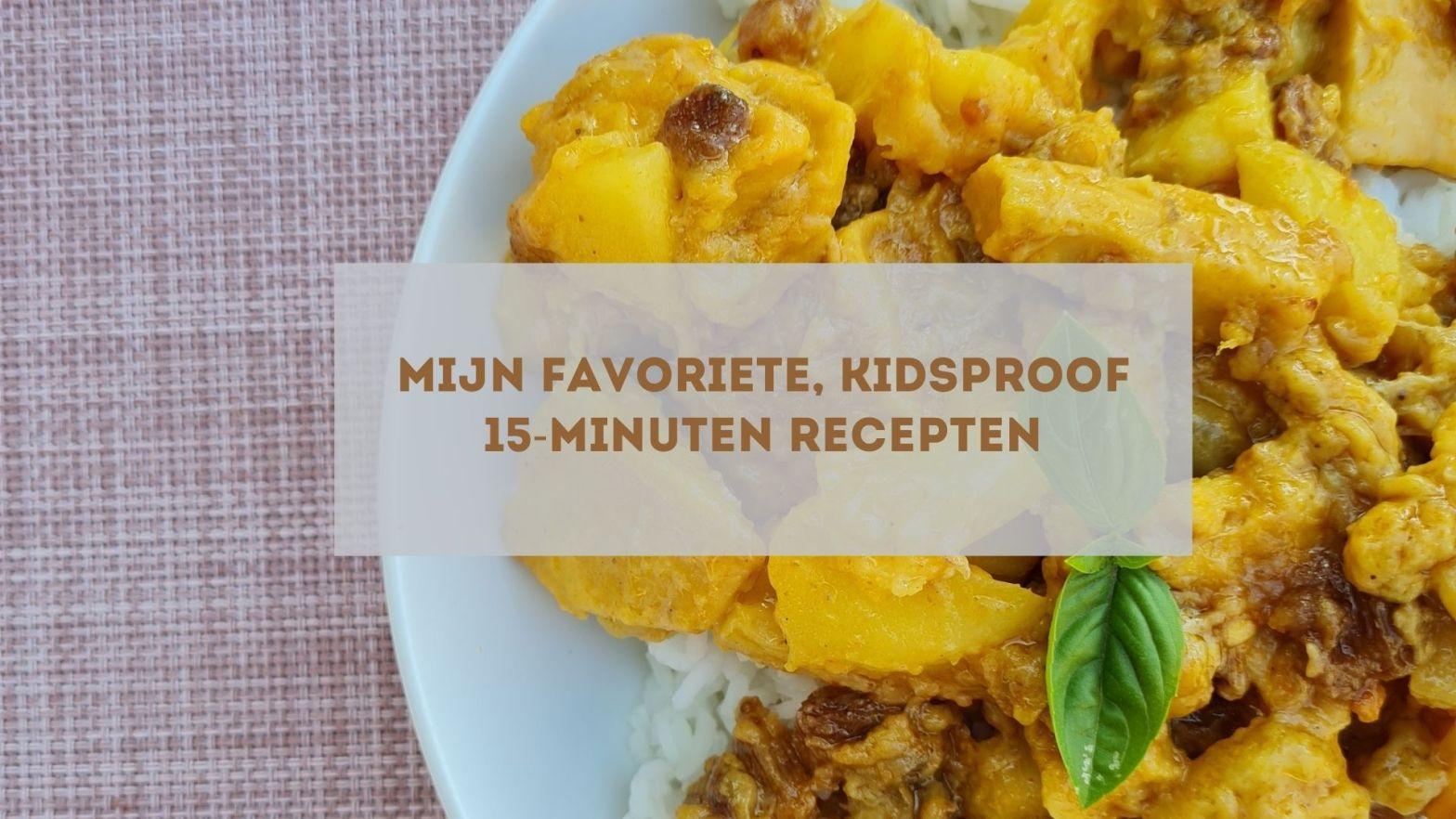 15 minuten recepten