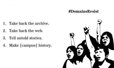 Domains Resist Protest Slide