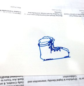 My Boot Drawing