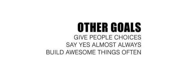 Other Goals Slide