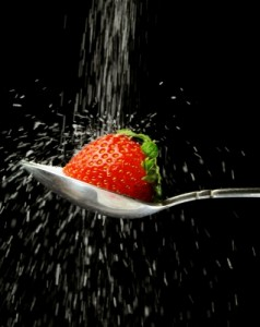 Strawberry Sprinkled with Sugar