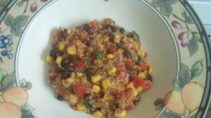 light and tasty quinoa