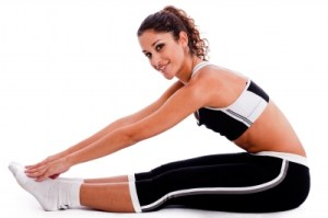 young-woman-stretching