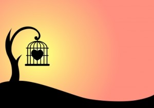 art-background-heart-caged