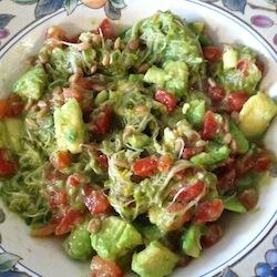 Avocado Salad with Basil