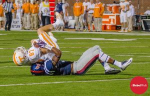 Ole Miss leads the nation in scoring defense. (Photo: Bentley Breland)