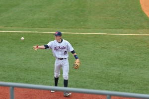 Will Golsan has been named SEC Freshman of the Week after helping the Rebels go 3-1. (Photo credit: Dan Anderson)