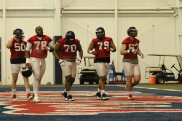 Ole Miss offensive line