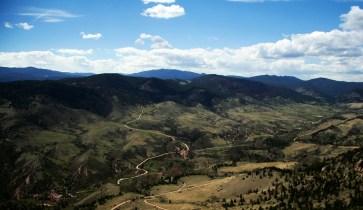 Atop Horsetooth Mountain Fort Collins, Colorado © Eve Bernhard. May, 2011