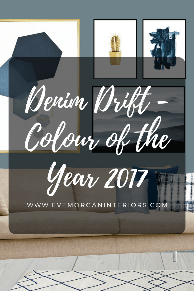 Denim Drift - Colour of the year 2017. Blue is the colour of our every day. The sky above us. The clothes we wear. And as of this year, the colour to paint on our walls.It is truly adaptable, fitting into all life and interior styles, making it the perfect choice for reflecting a new perspective for 2017.