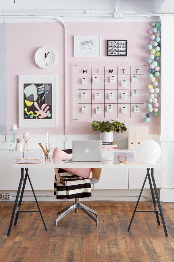 Home office wall calendar 2