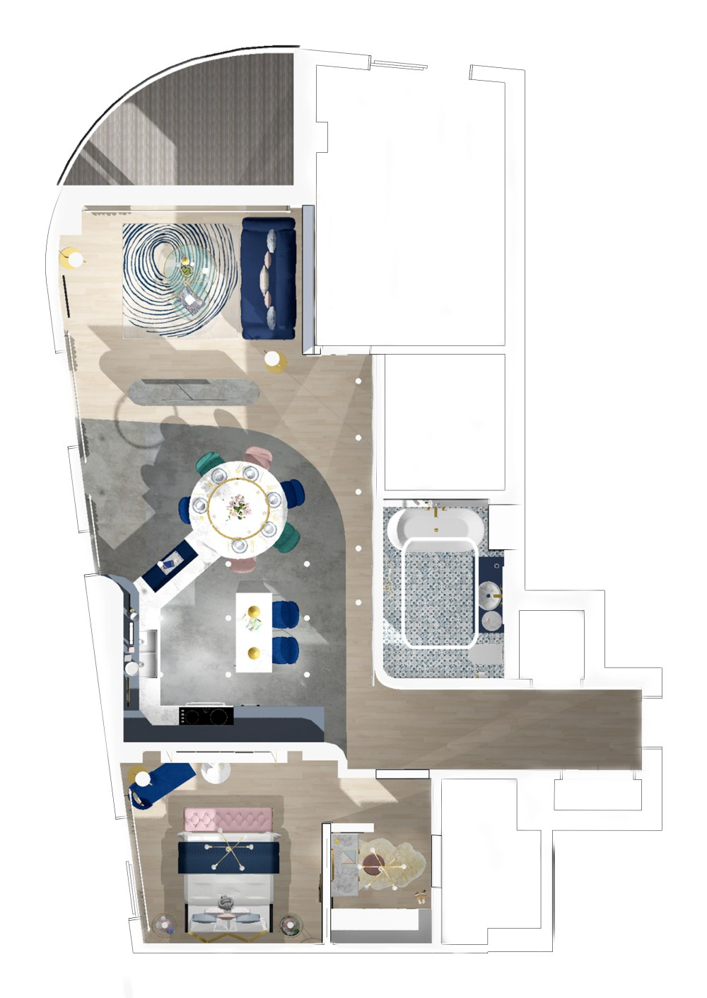 FMP floor plan for product spec